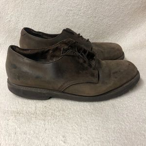 Frye Men's Distressed Leather Shoes Size 13 Union